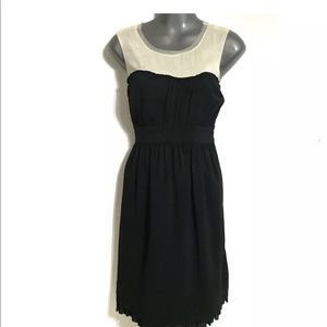 THE LIMITED Women's Dress Black Ivory Size 4